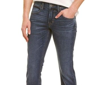 HUDSON BRYON FIVE POCKET STRAIGHT LEG JEANS